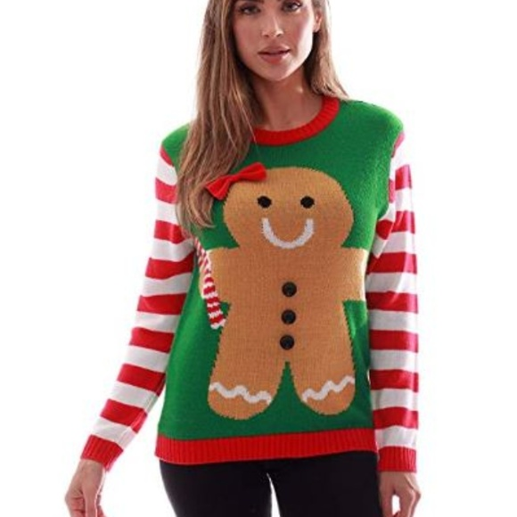 Womens Ugly Christmas Sweater Sweaters Women Boutique